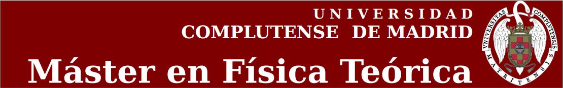 Logo master fisica teorica